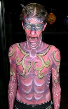 Face and Body Painting Contest for West Coast Face Painters