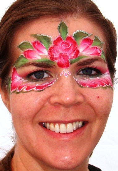 Face Painting in Washington State, and California Local Face Painter
