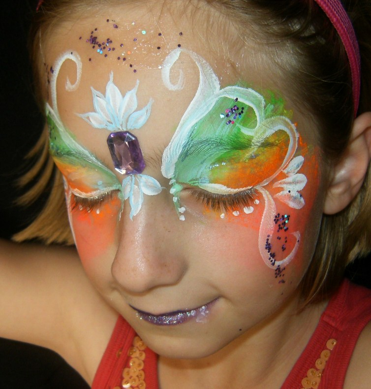 Face Painters for Events and Parties in Southern California and Claremont, La Verne, San Dimas, Glendora and Upland